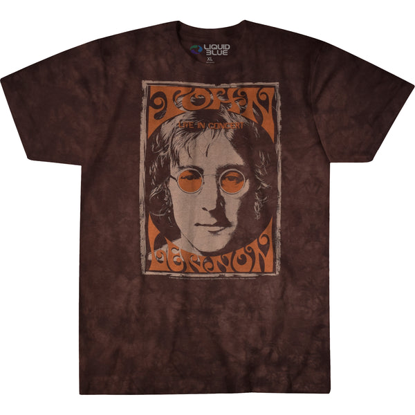 John Lennon - Live In NYC Tie Dye T-Shirt (Men)