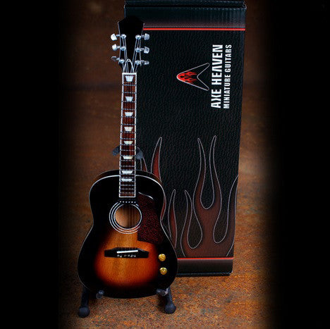Axe Heaven Miniature John Lennon Vintage Sunburst Acoustic Guitar Replica