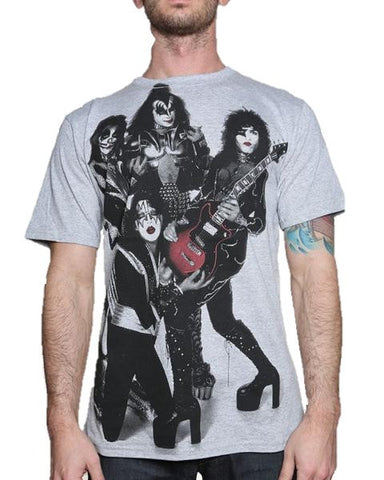 Kiss Rocket Ride T-Shirt (Men)