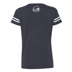 World Class Blues V-Neck (Women) - Vintage Navy/White