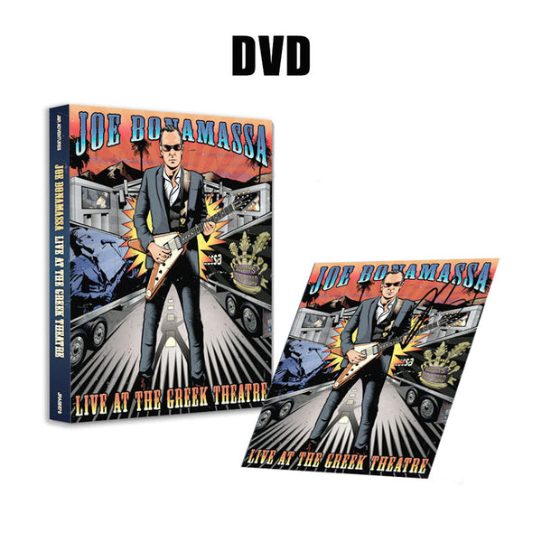 Joe Bonamassa: Live at the Greek Theatre (DVD) (Released: 2016) - Hand-Signed