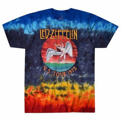 Led Zeppelin - Icarus 1975 Tie Dye T-Shirt (Men)