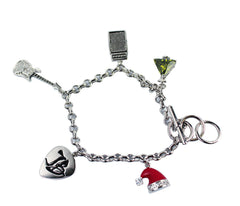 Limited Edition Holiday Charm Bracelet