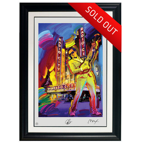 "FRAMED ""EVOLUTION"" Peter Max Collectible Litho #18 (FRAMED – USA ONLY)"