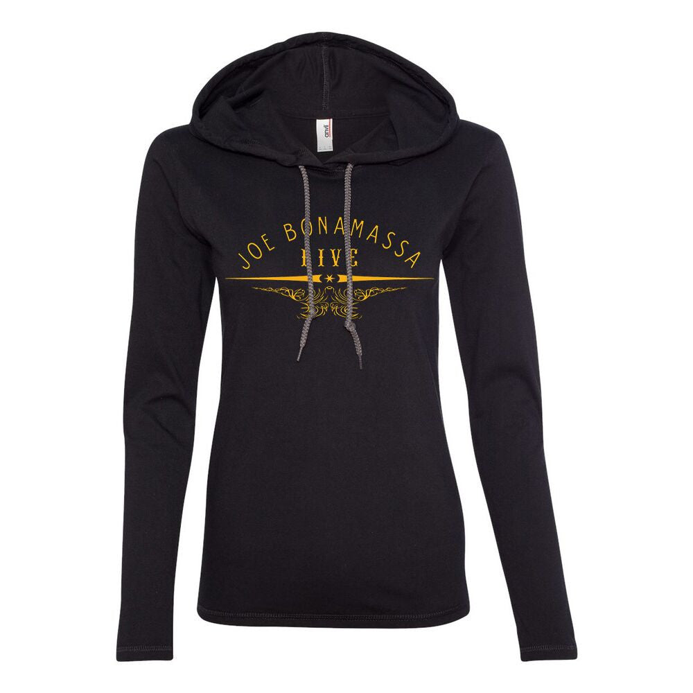 Live from Nowhere in Particular Hooded Long Sleeve (Women)