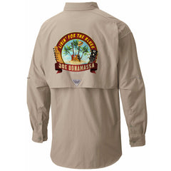 Columbia Bahama II Fossil Long Sleeve - Livin' for the Blues (Men)