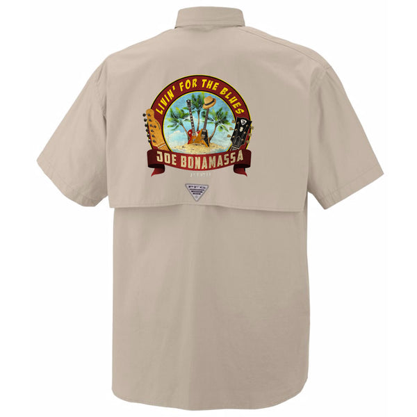 Columbia Bonehead Fossil Short Sleeve - Livin' for the Blues (Men)