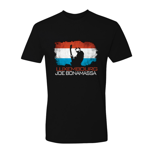 Joe Bonamassa World Shirt: Luxembourg