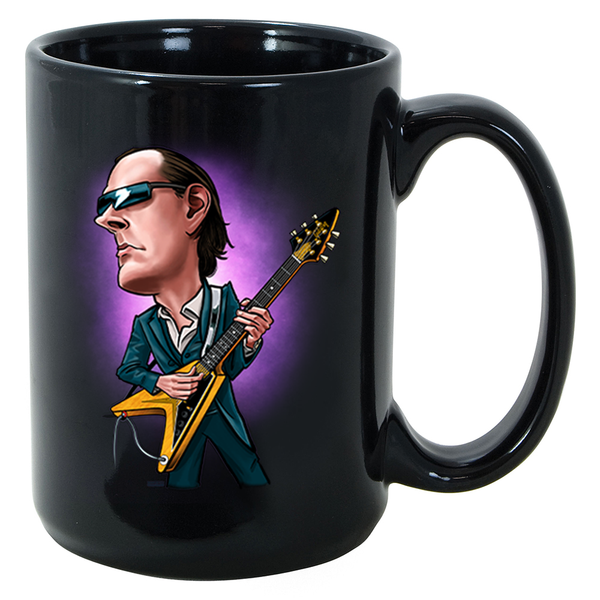 Joe Bonamassa & Amos Cartoon Mug