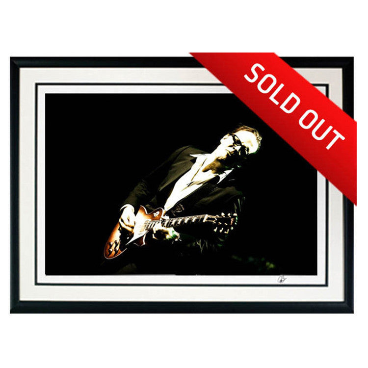 "#7 ""Midnight Blues"" JOE BONAMASSA Collectible Litho (FRAMED - USA ONLY)"