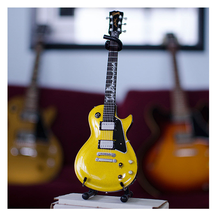 "Joe Bonamassa Signature ""Goldtop"" Miniature Guitar Replica Collectible"