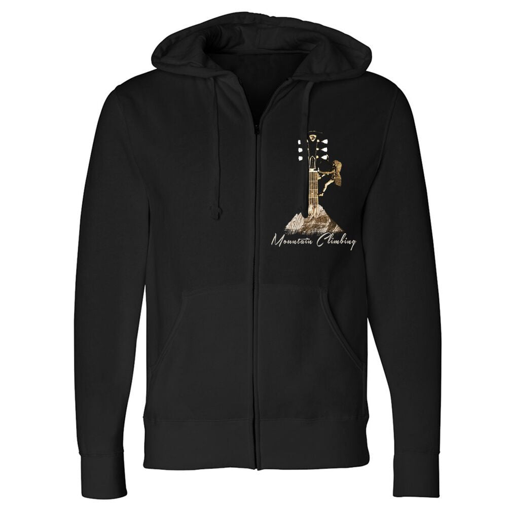 Mountain Climbing Zip-Up Hoodie (Unisex)