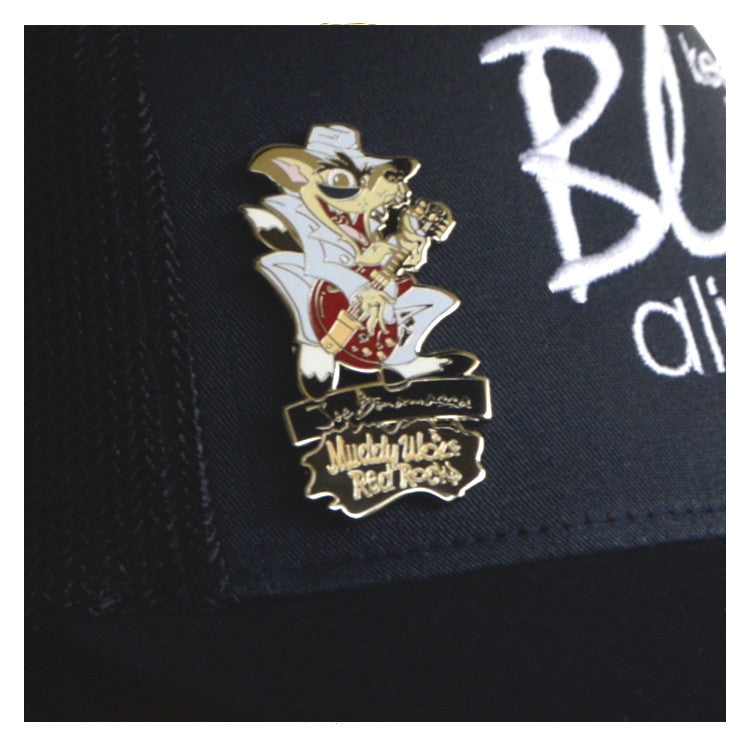 Muddy Wolf - Red Rocks Collectible Pin