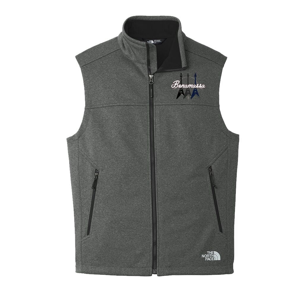 Triple Flying V - The North Face Ridgeline Soft Shell Vest (Men) - Dark Grey