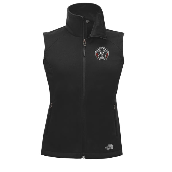 In Blues We Trust - North Face Ridgeline Soft Shell Vest (Women)