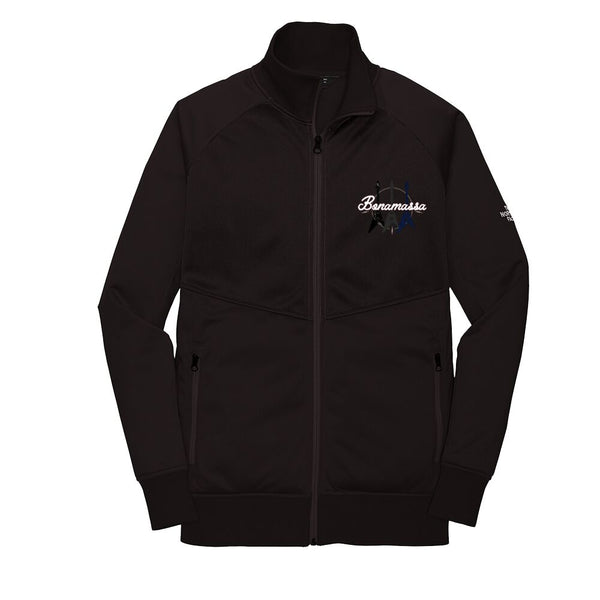 Triple Flying V - The North Face Tech Full-Zip Fleece Jacket (Men) - Black
