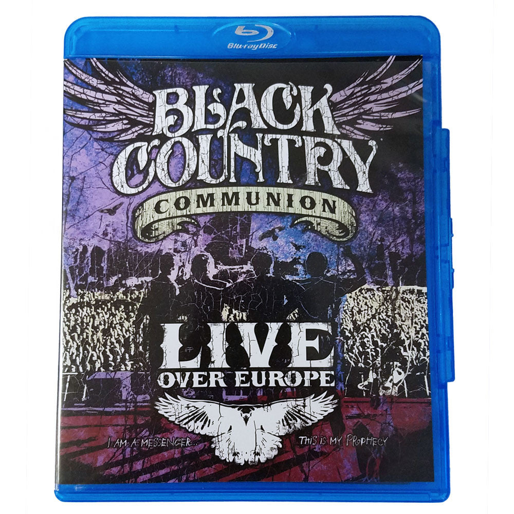 Black Country Communion: Live Over Europe (Blu-ray) (Released: 2012)