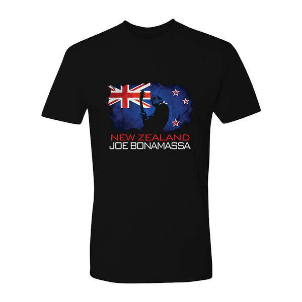 Joe Bonamassa World Shirt: New Zealand