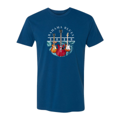 Bahama Blues T-Shirt (Unisex) - Cool Blue
