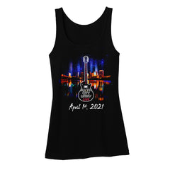 ACL Live Guitar Skyline Tank (Women)