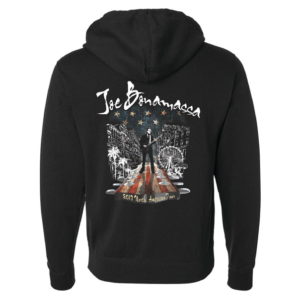 2017 North American Tour Zip-Up Hoodie (Unisex)
