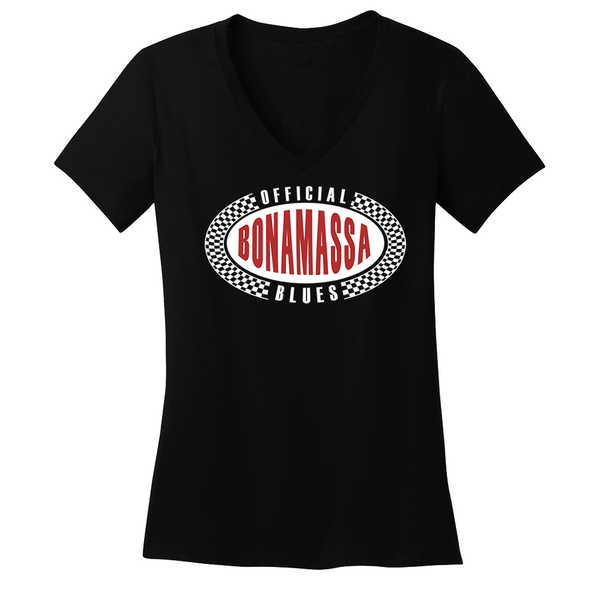Official Blues Provider V-Neck (Women) - Black