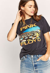 Pink Floyd World Tour Weekend T-Shirt - Vintage Black