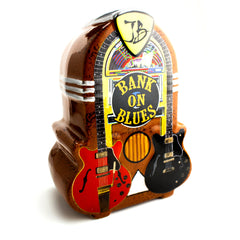 Bank on Blues Piggy Bank