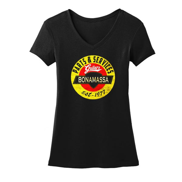 Bonamassa Guitar Parts & Service V-Neck (Women)