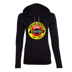 Bonamassa Guitar Parts & Service Hooded Long Sleeve (Women)