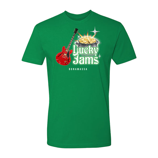 Lucky Jams Pot of Gold T-Shirt (Unisex) - Green