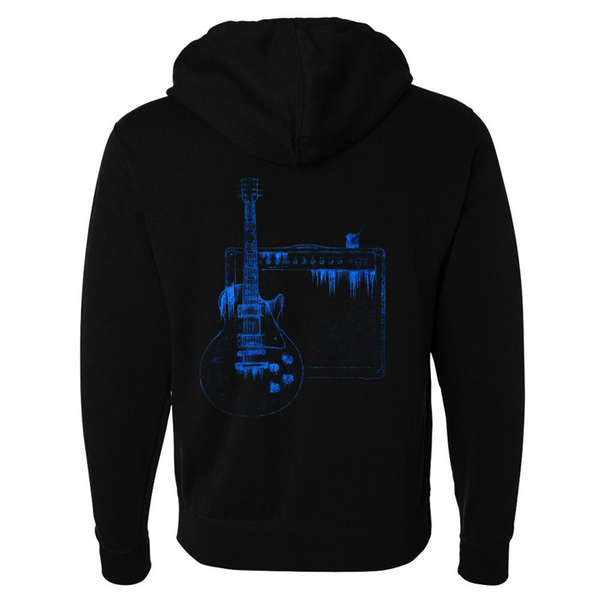Tribut - Blues on the Rocks Zip-Up Hoodie (Unisex)