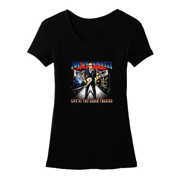 Live at the Greek Theatre V-Neck (Women)