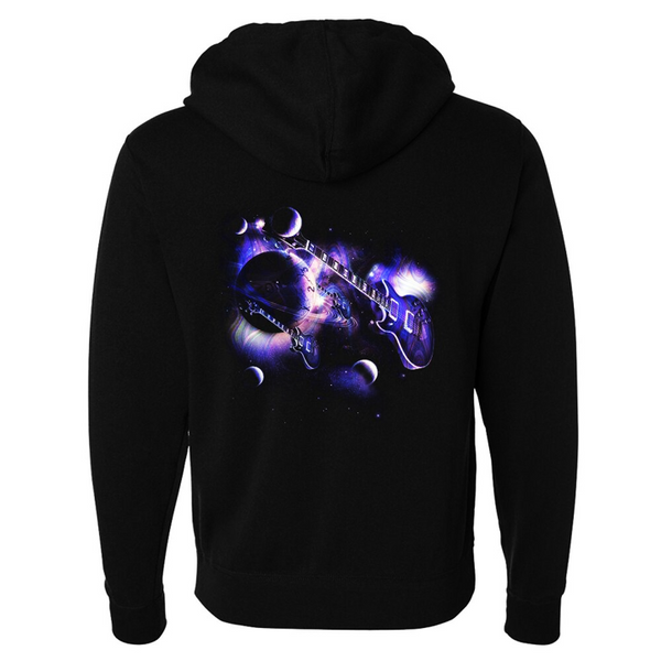 Tribut - Cosmic Blues Zip-Up Hoodie (Unisex)