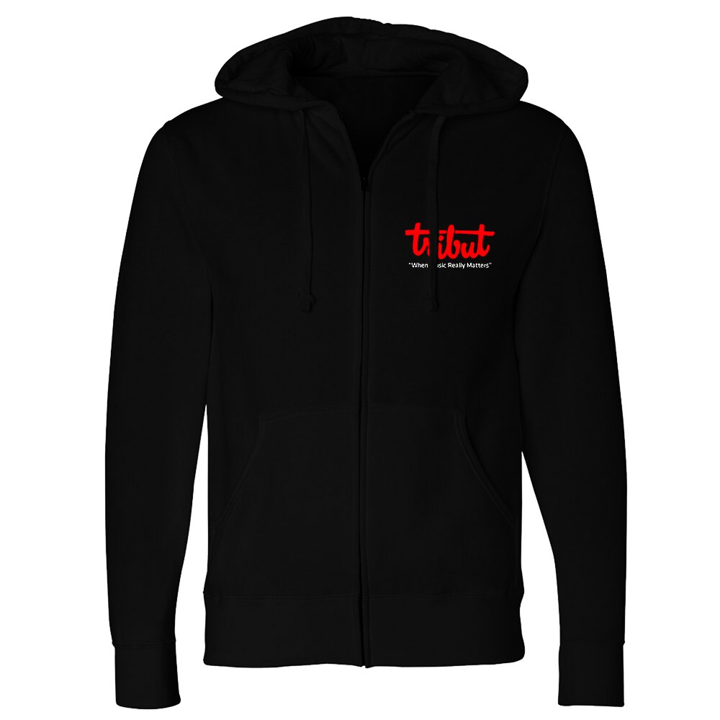 Tribut - Flame Top Zip-Up Hoodie (Unisex)