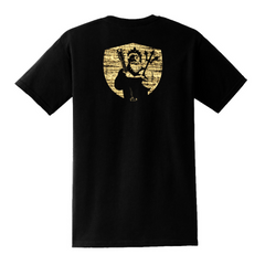 Bluesman of the Sea Pocket T-Shirt (Unisex) - Black