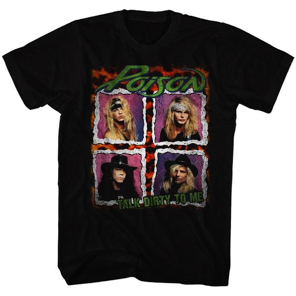Poison - Dist Tour T-Shirt (Men)