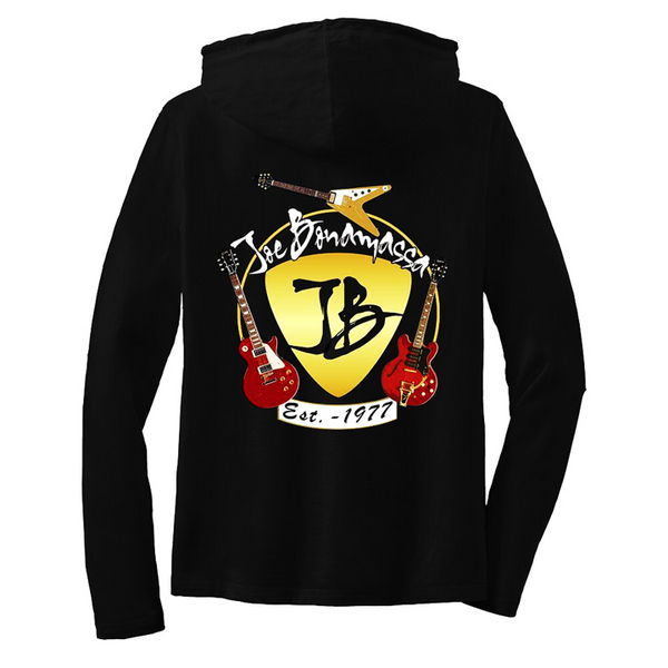 Guitar Trifecta Hooded Long Sleeve (Women)