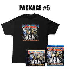 Live at the Greek Theatre CD & Blu-ray + T-Shirt Package