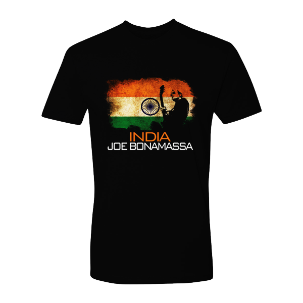 Joe Bonamassa World Shirt: India
