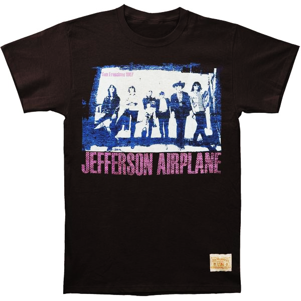 Jefferson Airplane - Chorus Line T-Shirt (Men)