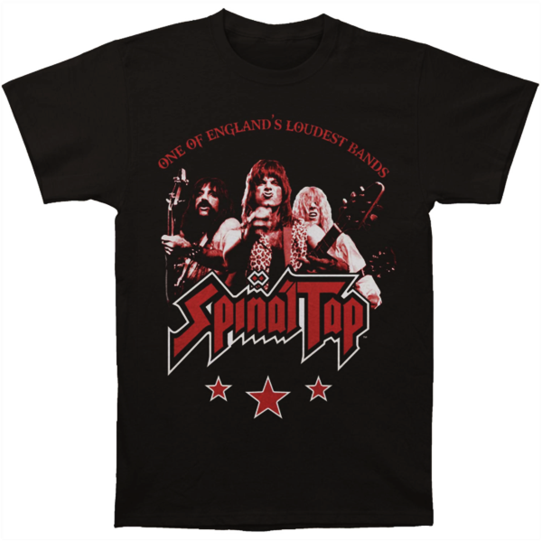 Spinal Tap - England's Loudest Band T-Shirt (Men)