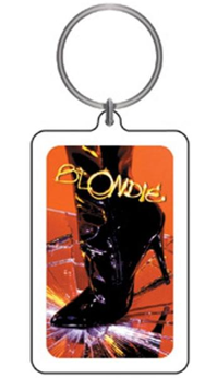 Blondie Boot Keychain