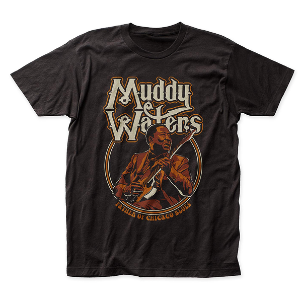 Muddy Waters - Father of Chicago Blues T-Shirt (Men)