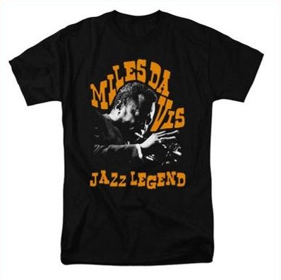 Miles Davis - Jazz Legend T-Shirt (Men)