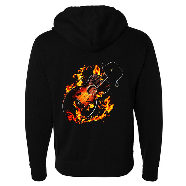 Tribut - Guitar Hell Zip-Up Hoodie (Unisex)