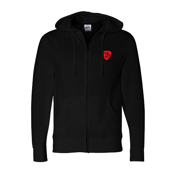 Bonamassa Blues Zip-Up Hoodie (Unisex) - Black