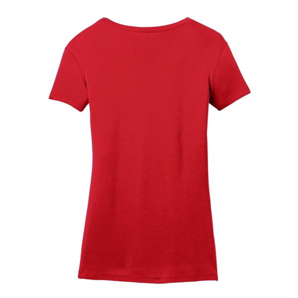 Blues Rock V-Neck (Women) - Red
