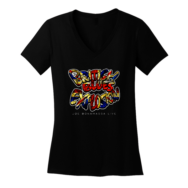 British Blues Explosion Live V-Neck (Women) ***PRE-ORDER***