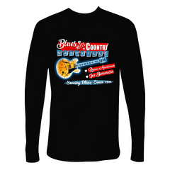 Blues Meets Country Long Sleeve (Men)